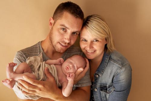 photo famille avec bébé angers
