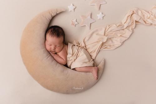photo de naissance en studio